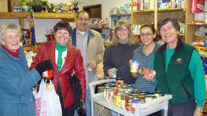 A community food bank