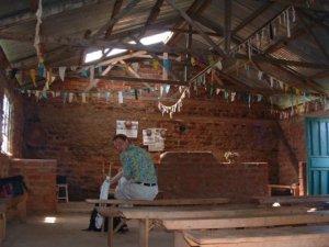 A small church in Kenya