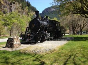 Newhalem Coal Train