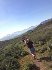 Running at Riser Lake