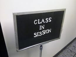 Class in Session