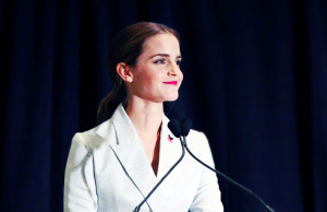 Emma Watson spoke to the UN