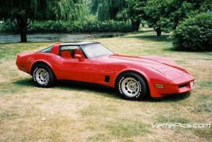 Driving my neighbor's 1981 t-top Corvette may have been the highlight of my teen years.