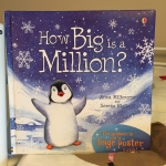 This cute book helps kids understand how big one million is.