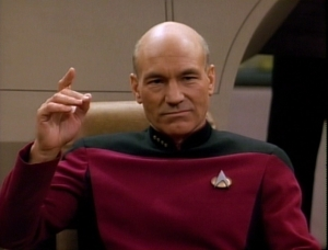 "Nothing makes you feel quite as empowered as setting the course for your estate. Captain Picard says, ""Make it so."""