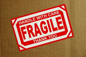 Fragile does not always mean weak. It means precious too and worth handling gently.
