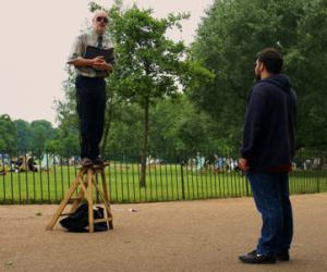 Speaker's Corner in London- Don't expect a big crowd if you don't have something worthwhile to share.