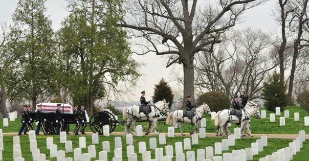 I have not yet visited Arlington National Cemetery, but images like this never fail to move me deeply.