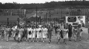 Women working at Oak Ridge, a secret city built right under our noses in WWII that helped win the war.